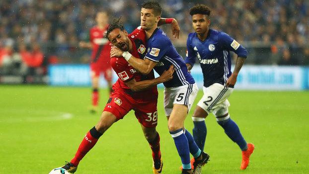 Assista aos gols de Schalke 1 x 1 Bayer Leverkusen