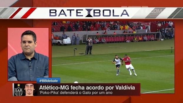 Atlético-MG fecha acordo com Valdívia; Bertozzi vê oportunidade para jogador voltar em alto nível