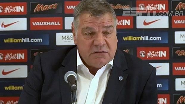 Apresentado na seleção inglesa, Sam Allardyce avisa: 'Eu me encaixo no cargo'