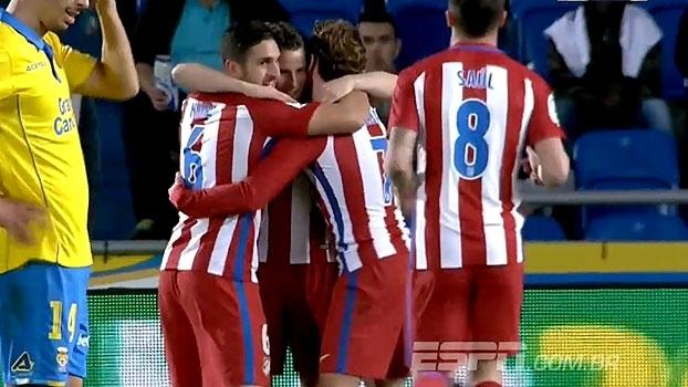 Griezmann faz o dele e o Atlético de Madri sai na frente na Copa do Rei
