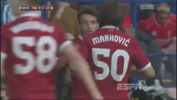 Amistoso Internacional: Gols de Tranmere 0 x 4 Liverpool