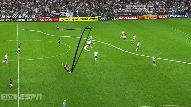 Calçade e DataESPN mostram como movimentação de Romero mantém paraguaio no time do Corinthians