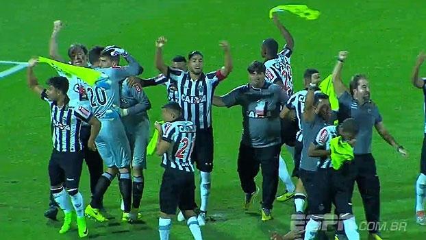 Copa do Brasil Sub-20: Gols de Flamengo 0 (1) x (3) 0 Atlético-MG