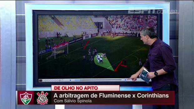 Pênalti? Saída de bola errada? Sálvio destrincha todas as polêmicas de Fluminense x Corinthians