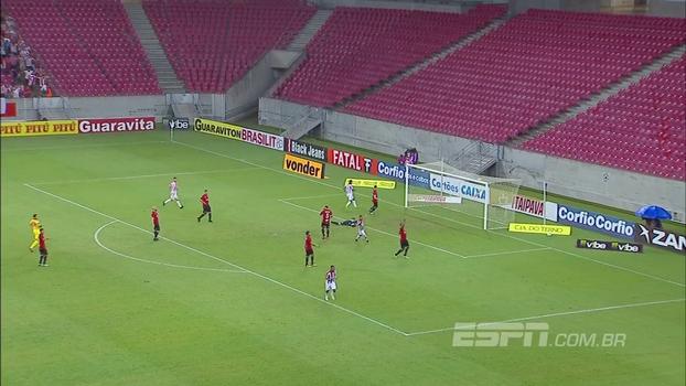 Série B: Gol de Náutico 1 x 0 Brasil de Pelotas