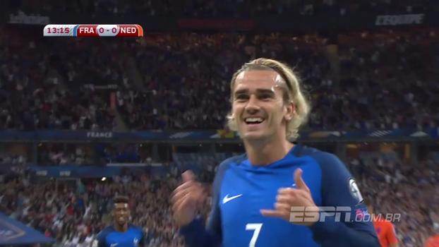 Assista aos gols de França 4 x 0 Holanda