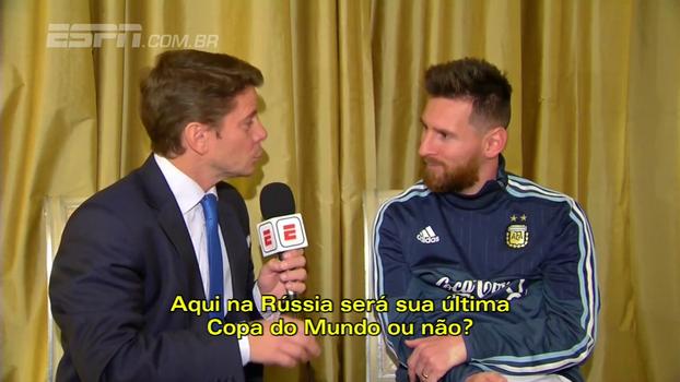 Se ficasse fora da Copa, Messi se aposentaria da seleção: 'Seria o fim definitivo desta geração' - ESPN