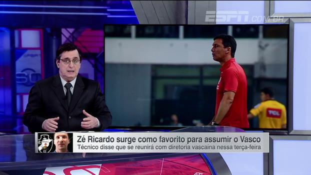 Para Antero, 'bateu desespero' para Vasco trocar de técnico e critica diretoria: 'Falta visão. Está parado no tempo!'