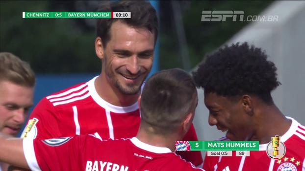 Copa da Alemanha: Gols de Chemnitzer 0 x 5 Bayern de Munique