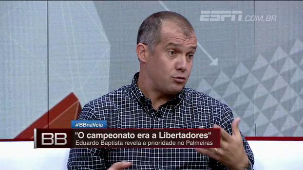 Para Eduardo Baptista, nervosismo atrapalhou Borja: 'É o jogador de uma finalização'