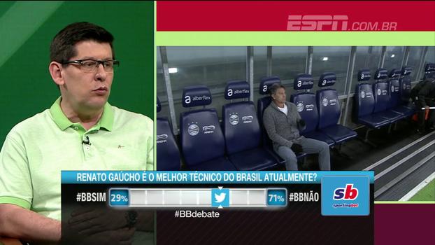 Celso Unzelte elege Carille como melhor técnico do Brasil: 'É o técnico que fez mais com menos'