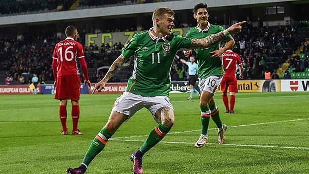 Eliminatórias Europeias: Gols de Moldávia 1 x 2 Irlanda