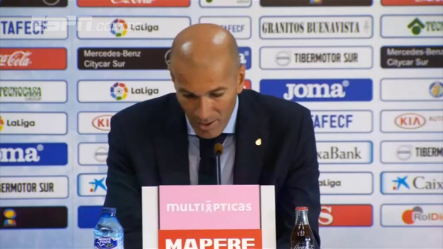 Zidane comemora primeiro gol de Cristiano Ronaldo e retorno de Marcelo na LaLiga