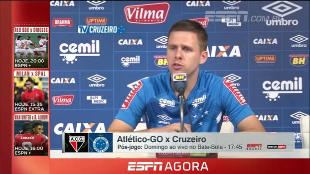 Lateral do Cruzeiro cita força do grupo para disputa do Brasileiro e Copa do Brasil