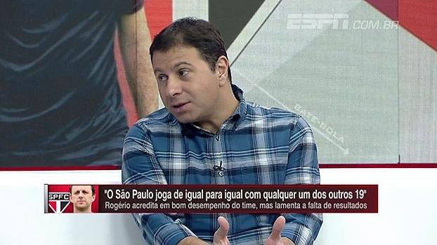 Marra analisa empate do São Paulo com o Flu: 'Poderia ter perdido se não fosse Renan Ribeiro'
