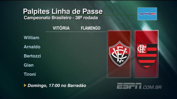 Confira os palpites do 'Linha de Passe' para os jogos da 38ª rodada do Brasileirão