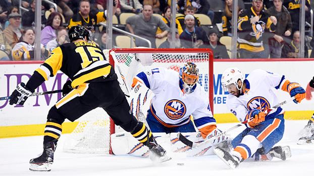 Na prorrogação, Penguins vencem Islanders por 4 a 3 na NHL