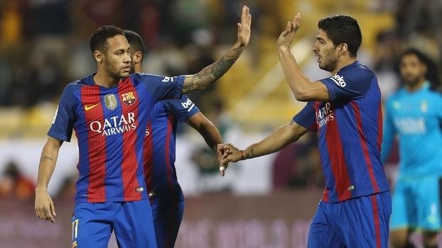 Amistoso: Melhores momentos de Barcelona 5 x 3 Al Ahli SFC