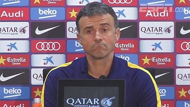 Barcelona encara time do coração de Luis Enrique com Messi e novo astral