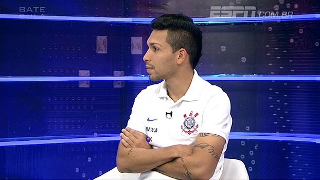 Sem entender porque ficou de fora contra o Goiás, Petros rebate declaração de Mano: 'Eu faria diferente'