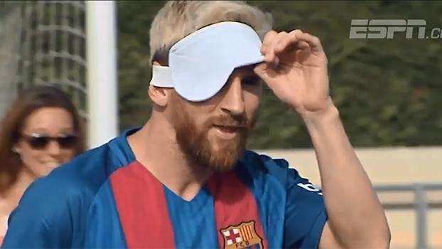 Com Messi, Unicef promove disputa entre o Barcelona e a seleção espanhola de futebol de sete