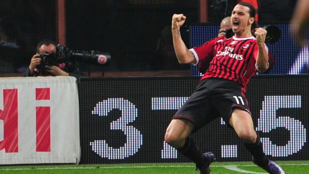 Chapelou goleiro e fez dois: em 2012, Ibrahimovic resolveu e Milan virou sobre a Roma