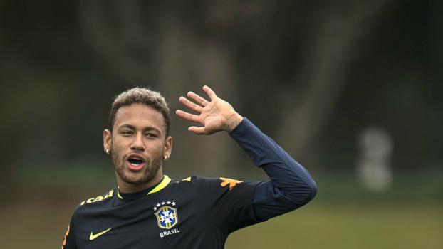 38ce3f965cd06 Neymar diz que seria um prazer jogar no Palmeiras   Não sabemos o ...