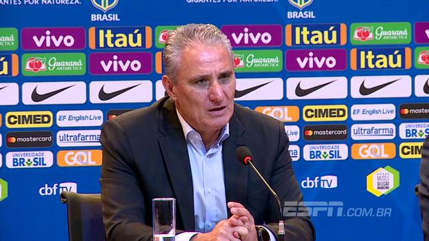 Tite diz que safra é muito boa e justifica convocação dos mesmos goleiros para encarar Bolívia e Chile
