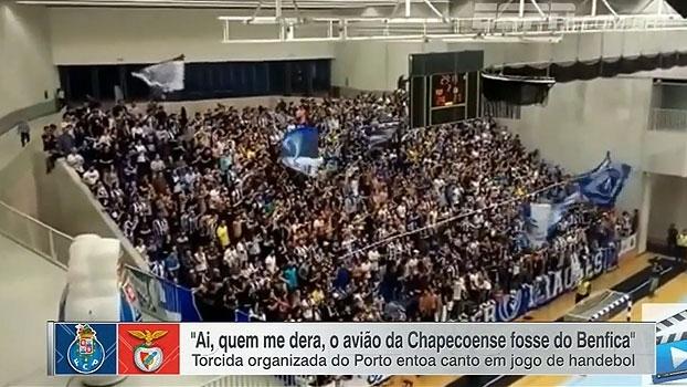 Veja os gritos da torcida do Porto com alusão ao acidente da Chapecoense