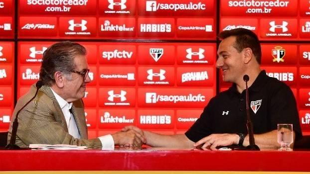 Aidar elogia Doriva e diz que treinador está  fadado a levar o São Paulo ao b35a7cd83e366