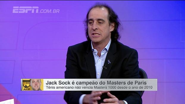 Fernando Meligeni analisa título de Jack Sock em Paris: 'É muito bom para o tênis'