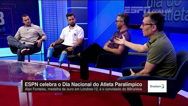 Calçade exalta o que Alan Fonteles representa para a inclusão social: 'É um brasileiro que dignifica o país'