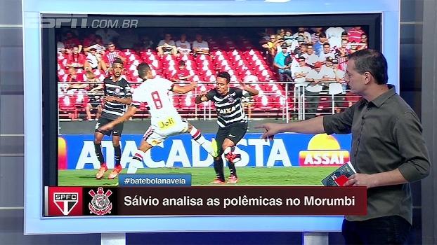 Muita polêmica na arbitragem de São Paulo x Corinthians; Sálvio Spinola analisa lances