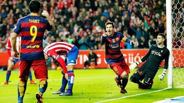 Sporting Gijón x Barcelona