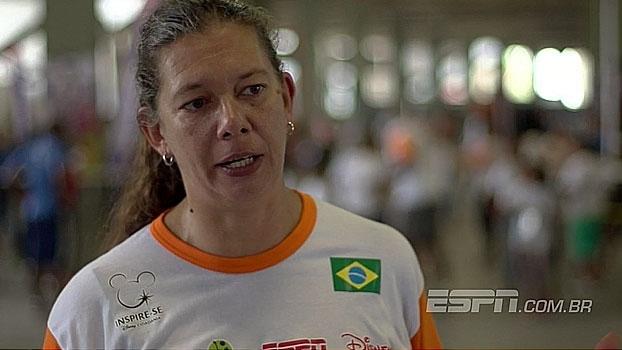 Em Recife, Ana Moser e Caravana do Esporte fazem ações com crianças de Campina Barreto
