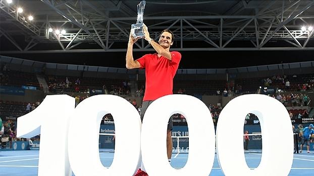 Torneio de Brisbane (final): Lances de Roger Federer 2 x 1 Milos Raonic