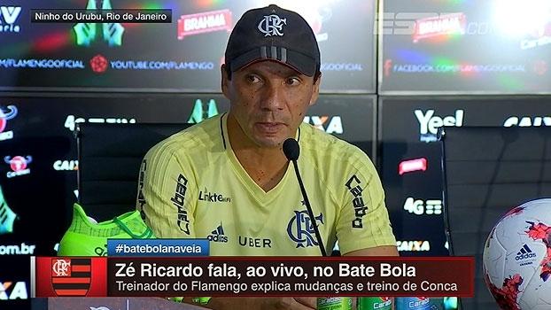 Zé Ricardo destaca Márcio Araújo: 'Um dos jogadores mais importantes da nossa equipe'