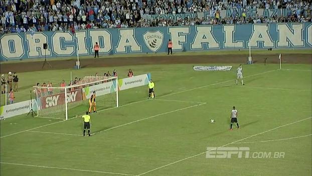 Assista à disputa de pênaltis entre Londrina e Atlético-MG, pela final da Primeira Liga