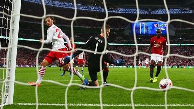 Copa da Liga Inglesa: Melhores momentos de Manchester United 3 x 2 Southampton