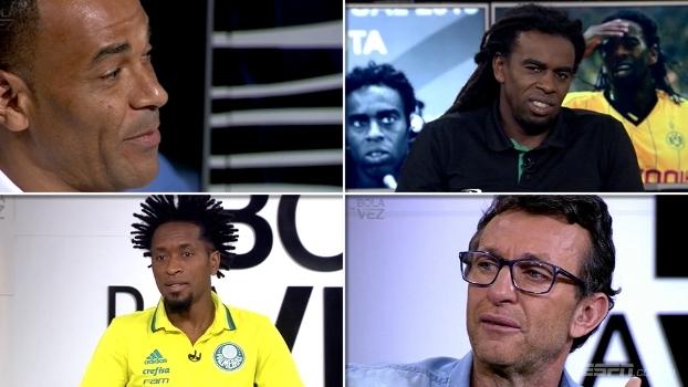 Bola da Vez Especial: Tinga, Zé Roberto, Neto e Cafú contam início sofrido no futebol