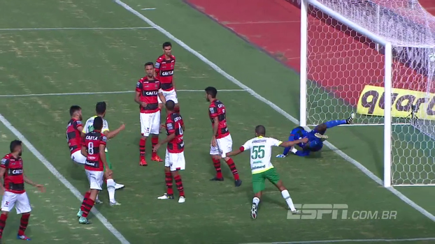 Brasileiro: Gols de Atlético-GO 1 x 1 Chapecoense