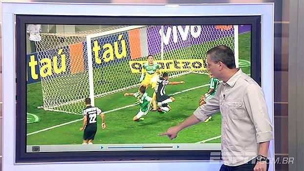 Para Salvio, pênalti para o Atlético-MG não deveria ter sido marcado
