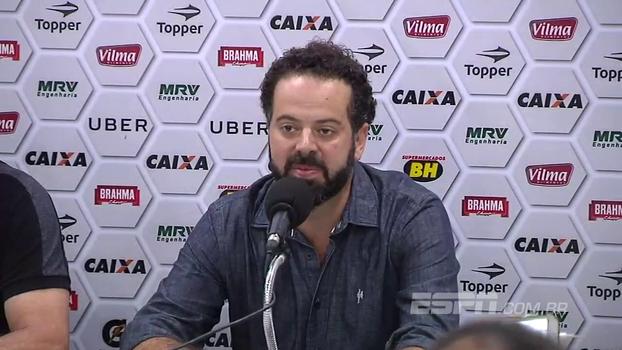 Saindo do Atlético-MG, Nepomuceno fala de seus 3 anos de trabalho e agradece a todos