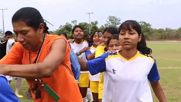 Tribos do Tocantins duelam pela primeira vez no futebol feminino dos Jogos Mundiais dos Povos Indígenas