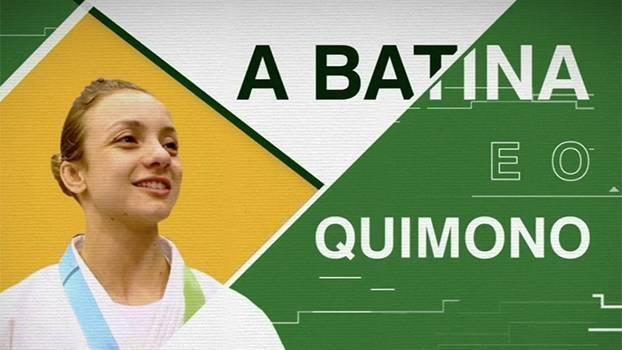 A batina e o quimono: a história de Nathália Brígida, judoca medalhista de bronze no Pan que já foi treinada por um padre