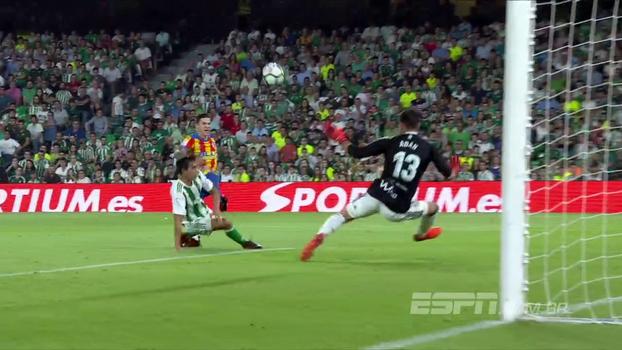 Assista aos melhores momentos da vitória do Valencia sobre o Real Betis por 6 a 3!