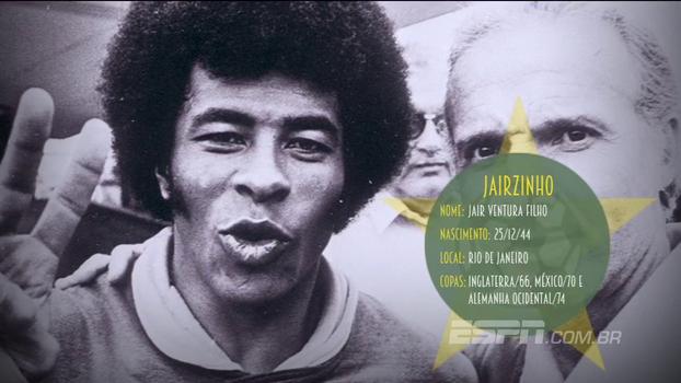 Único jogador a marcar em todas as partidas de uma mesma Copa, relembre o 'furacão' Jairzinho