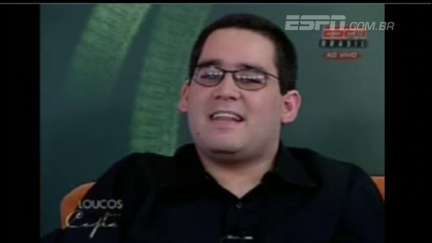 No dia em que completa 8 anos de ESPN, Léo Bertozzi relembra aparição como convidado em 2006