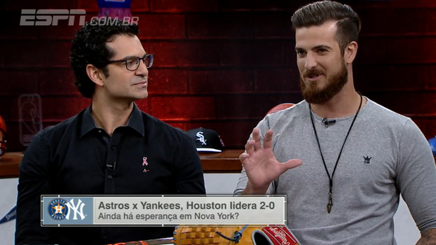 Rienzo diz que gostou mais de Astros e Yankees: 'Toda hora estava acontecendo alguma coisa'