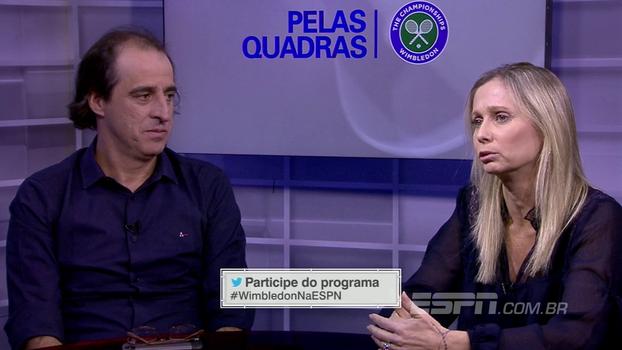 Dadá Vieira analisa influência de Conchita Martínez em Muguruza: 'Fez muito bem, principalmente nas atitudes'